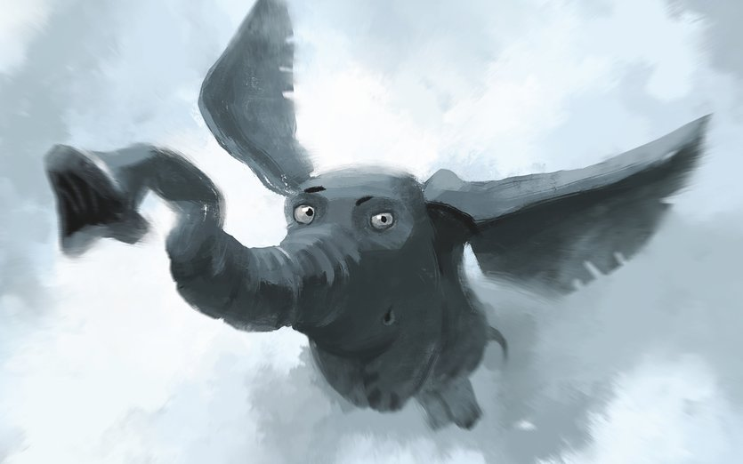 Flying Elephant By Creature Design On Storybird