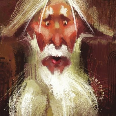 Twisted beard wizard