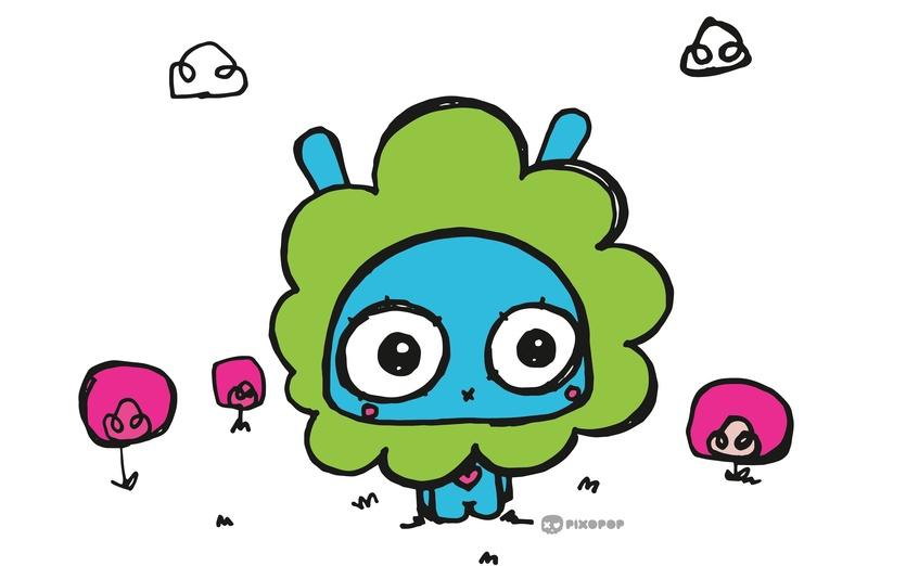- adorable, blue, brightcolored, brightcolors, bunny, cartoon, cartoony
