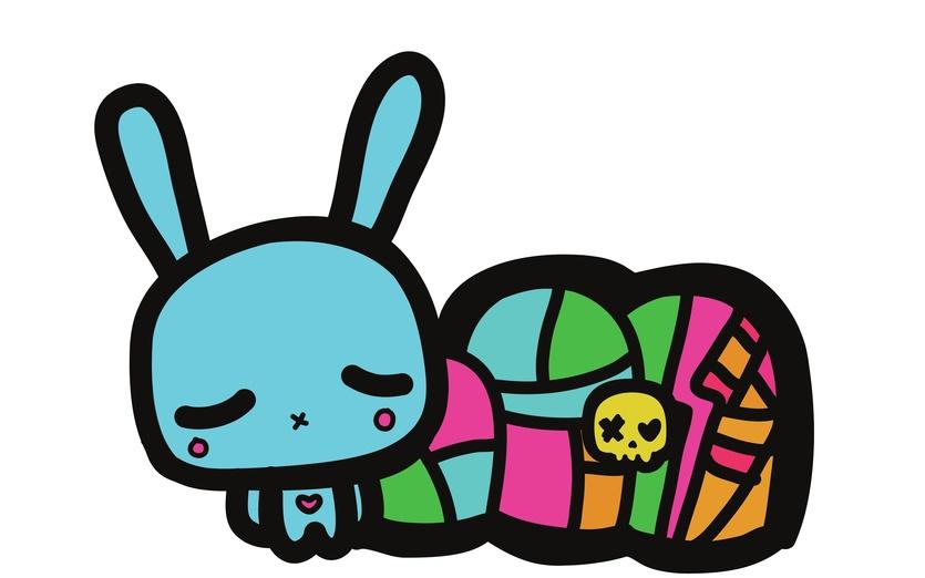 - adorable, adorbs, black, blue, bold, bunnies, bunny