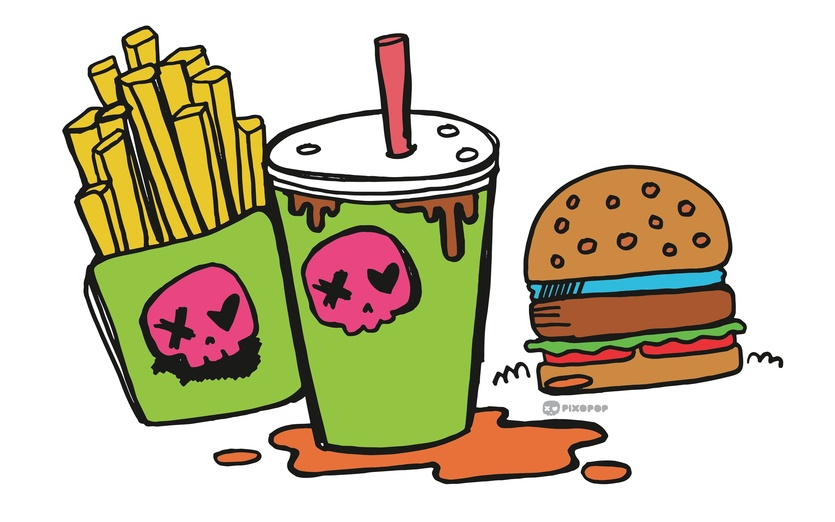 - brightcolored, brightcolors, burger, cartoon, cartoony, colored, colorful