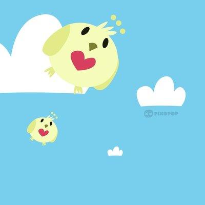 flying bubble birds