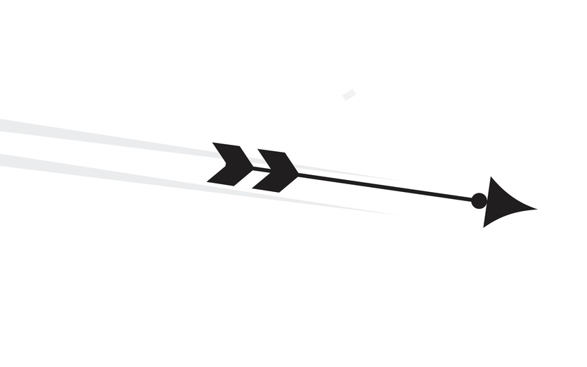 - and, arrow, attacking, black, bow, cartoon, digitalart