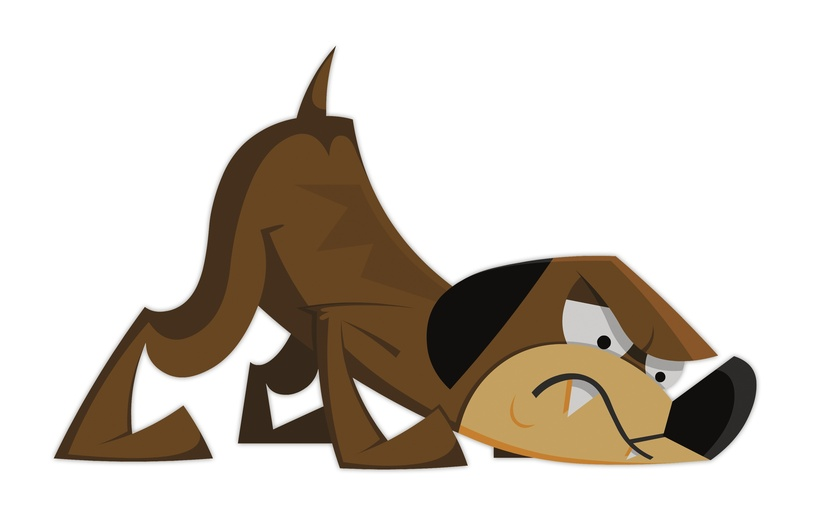 Cartoon Pictures Of Aggressive Dogs