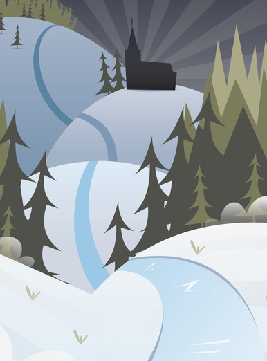 - blue, brightcolored, brightcolors, brown, cartoon, cartoony, christmas