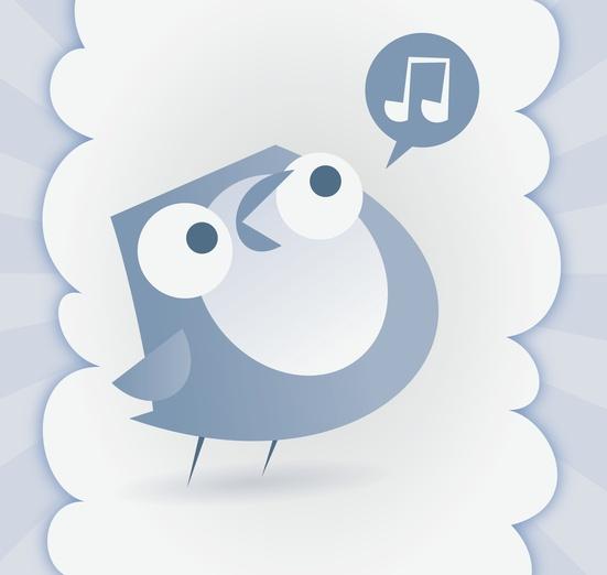 - adorable, animal, bird, blue, cartoon, cartoony, character