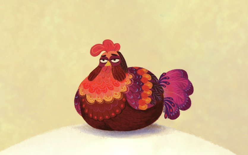 Big Fat Chicken By Shishir On Storybird