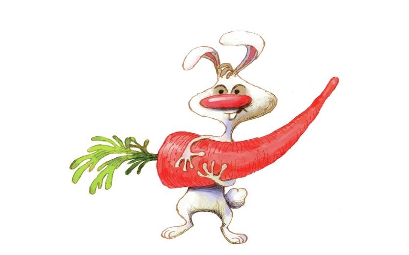 - adorable, animals, beige, brightcolored, brightcolors, bunnies, bunny