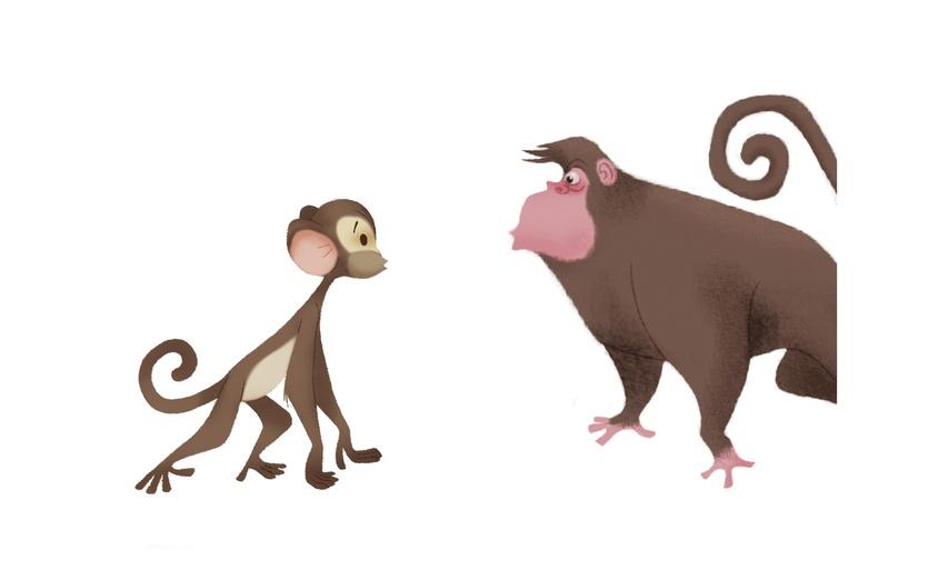 - adorable, adorbs, animal, ape, art, beige, brown