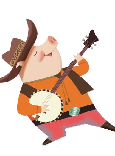 Banjo Pig