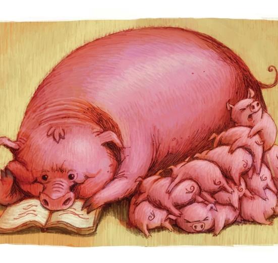 - adorable, animals, beige, black, book, brightcolored, brightcolors