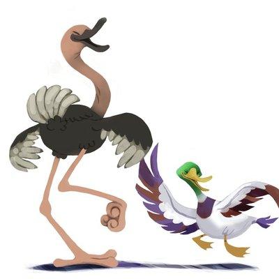 Tango Ostrich & Duck