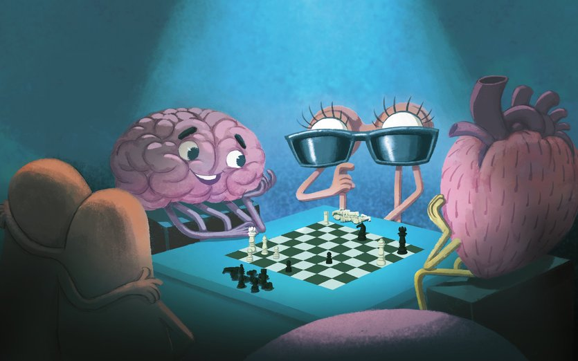 Who dares to beat brainy in brain-games?