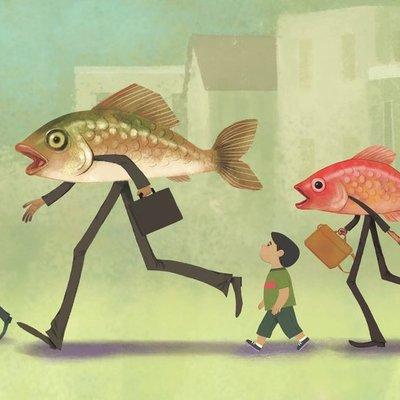 Fishy people