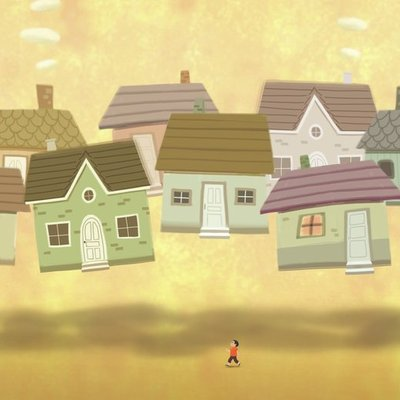 Floating town