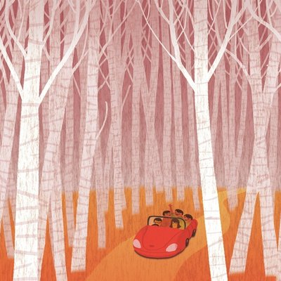 Journey through woods