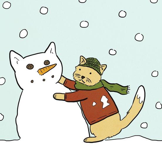 - adorbs, animals, art, blue, cat, cats, cold
