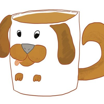 Dog In A Mug