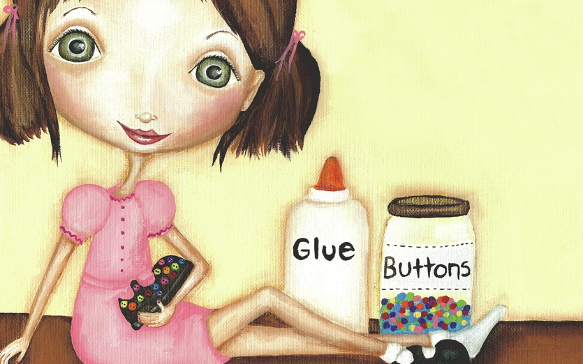 - adorable, brown, button, buttons, cartoon, cartoony, character