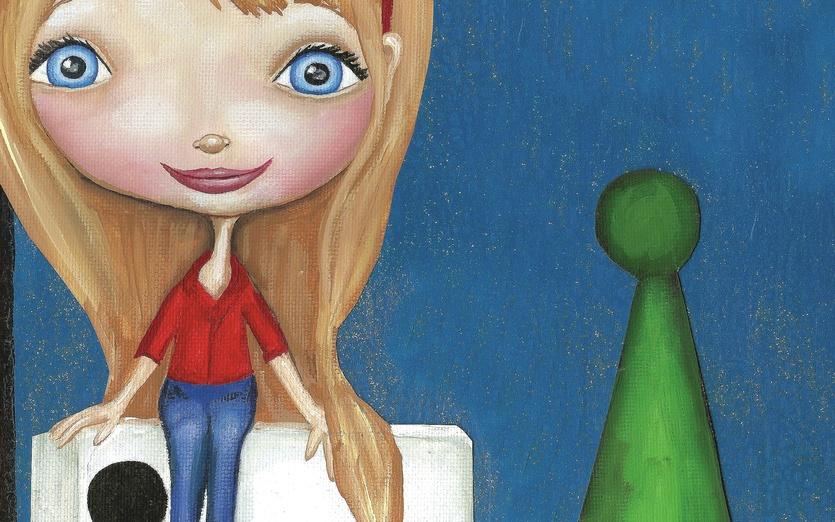 - adorable, blond, blonde, blue, board, brown, cartoon