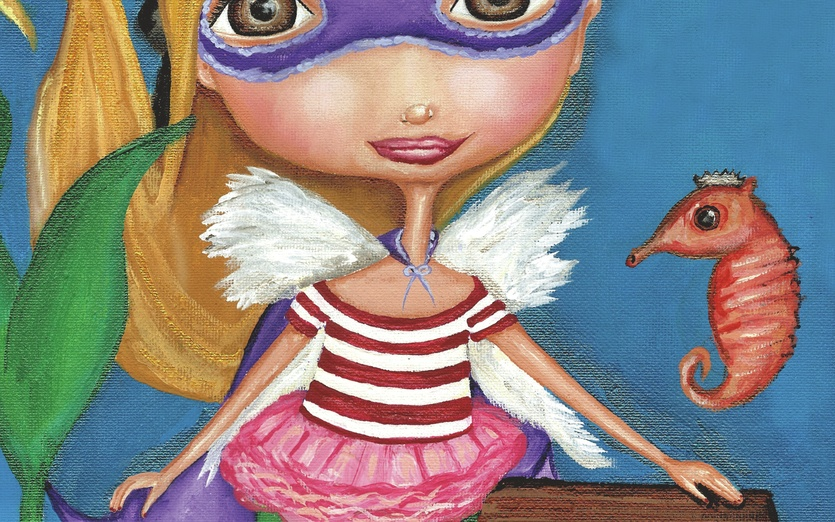- adorable, angel, ballet, beige, blue, brown, cartoon