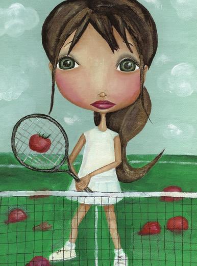 Tomato tennis