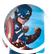 CaptainAmericaCupcakez