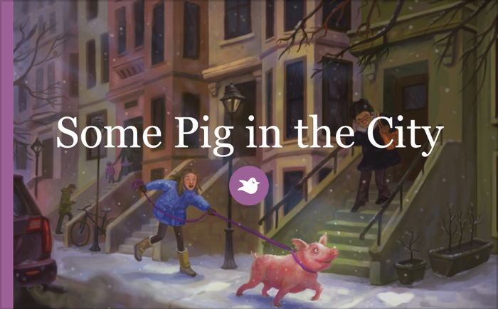 HarperCollins nabs Jodi Kendall's Some Pig in the City