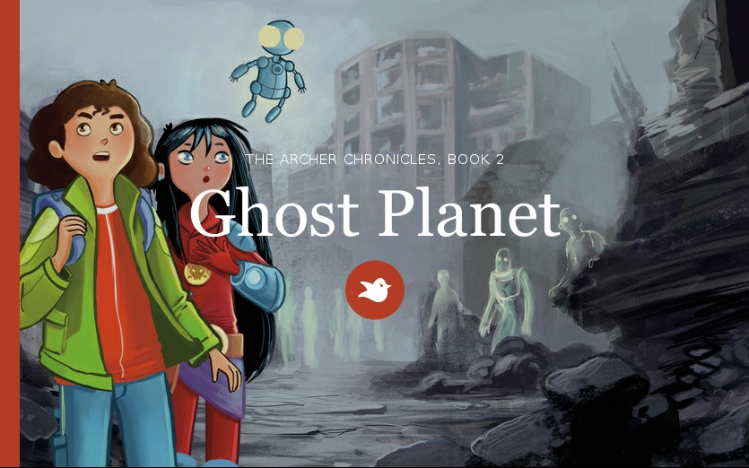 Book release! Ghost Planet