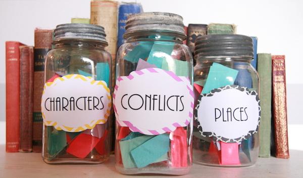 Writer's Workshop #3: Idea Jars