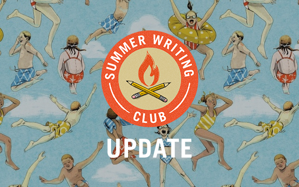 Summer Writing Club Update!