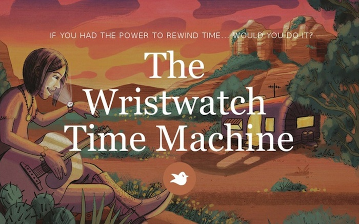 Book release! The Wristwatch Time Machine