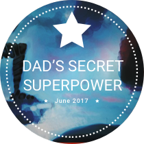 June Challenge: Dad's Secret Superpower