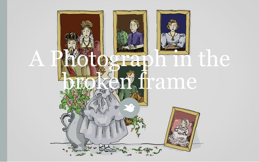 A Photograph In A Broken Frame by randy_sal - Storybird