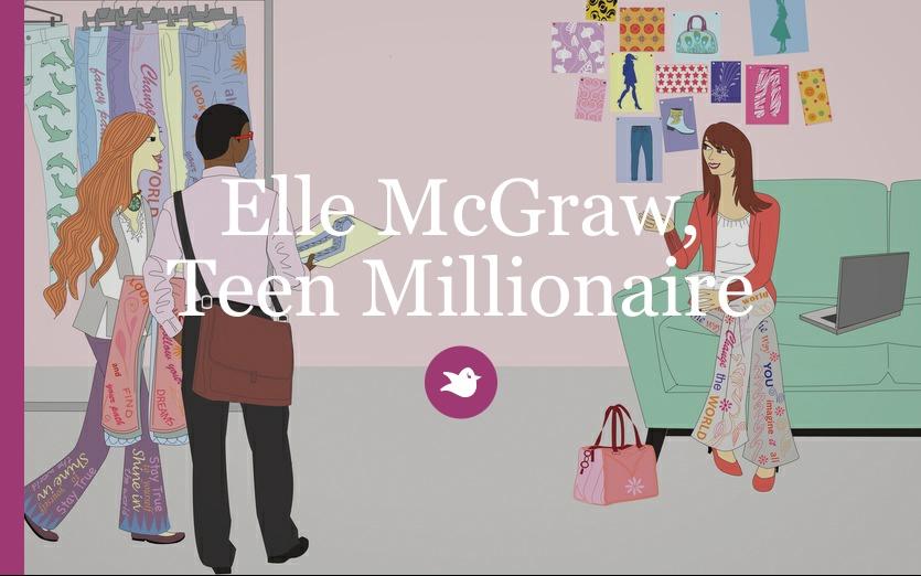 Elle McGraw, Teen Millionaire