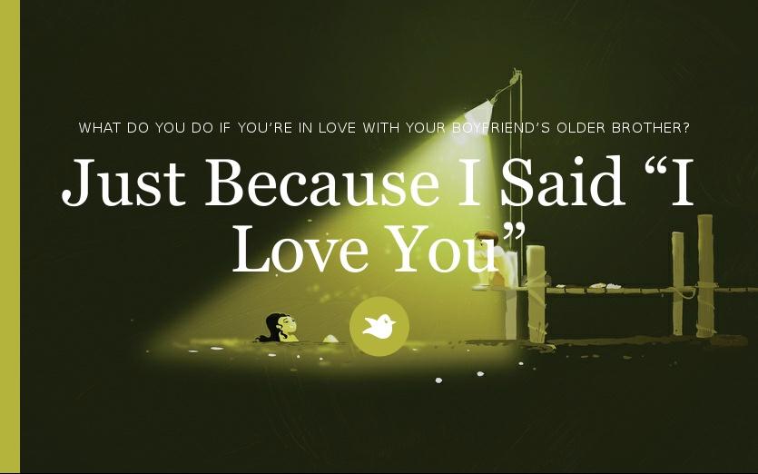 what if i said i love you
