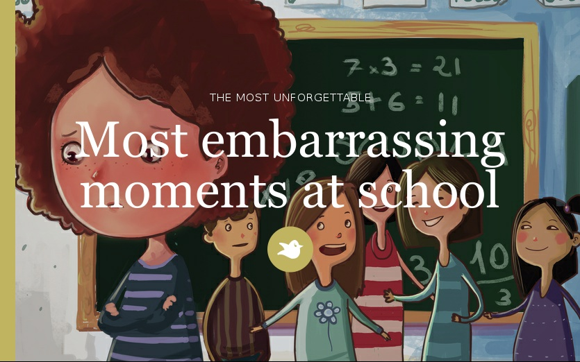 Most Embarrassing Moments At School By Nacolooloo Chapter 1