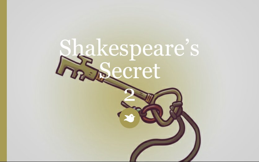 shakespeares secret book report The secret of the shakespeare plays  by  readthe secret of the shakespeare plays the book about the greatest puzzle of them all   there is a book by colin still entitled shakespeare's mystery play which demonstrates that the tempest is permeated throughout with the symbolic representation of the greater mysteries at eleusis.