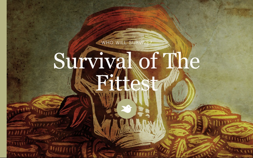 survival for the fittest in the call of the wild Survival, for many people, was the  fate, individualism, and survival of the fittest   the call of the wild contrasts and compares the civilized and uncivilized.