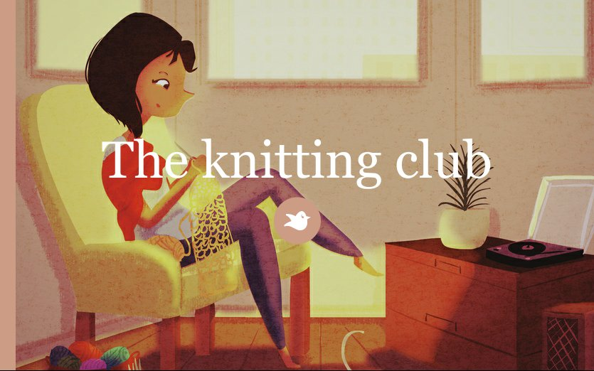 Knitting Club Book : The knitting club by storyellow chapter storybird