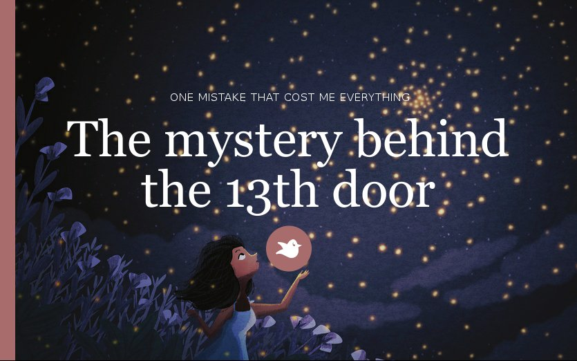 & The mystery behind the 13th door by doctorwhorulez - Storybird