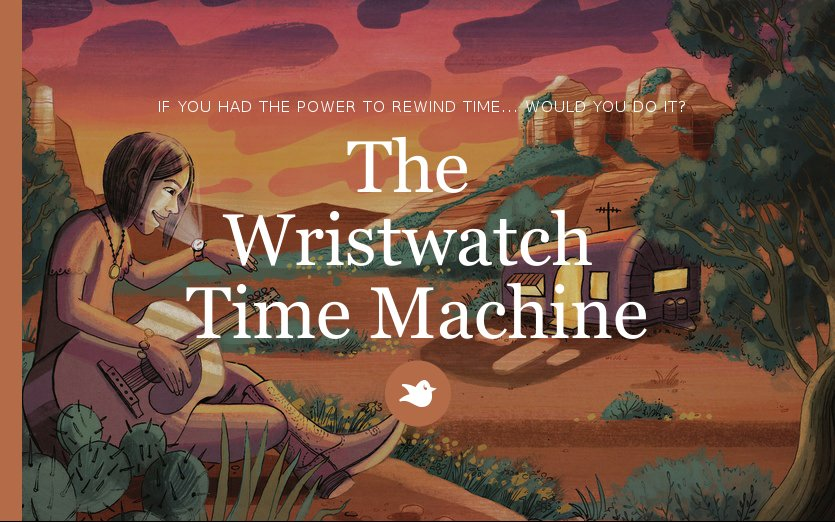 The  Wristwatch  Time Machine