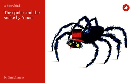 The spider and the snake by Amair