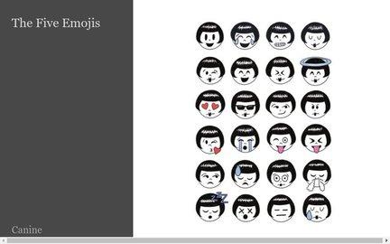 The Five Emojis