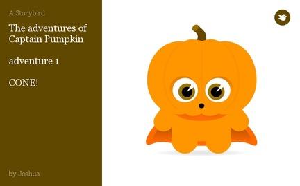 The adventures of Captain Pumpkin   adventure 1   CONE!