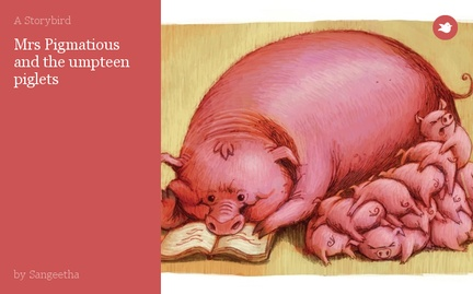 Mrs Pigmatious and the umpteen piglets