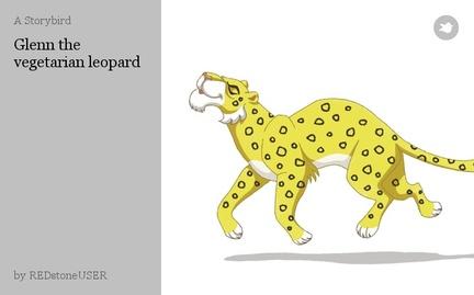 Glenn the vegetarian leopard