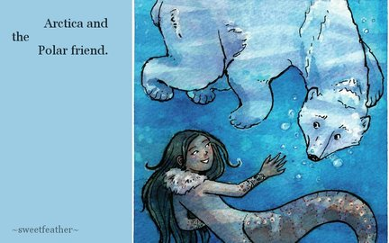 Arctica and the  Polar friend.