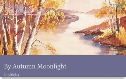 By Autumn Moonlight