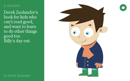 Derek Zoolander's book for kids who can't read good, and want to learn to do other things good too. Billy's day out.